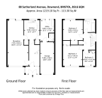Floorplan of Sutherland Avenue, Downend, Bristol, BS16 6QN